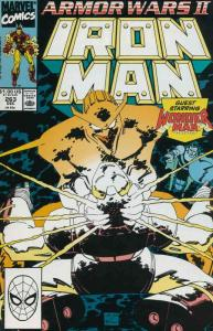 Iron Man (1st Series) #263 VF/NM; Marvel | save on shipping - details inside
