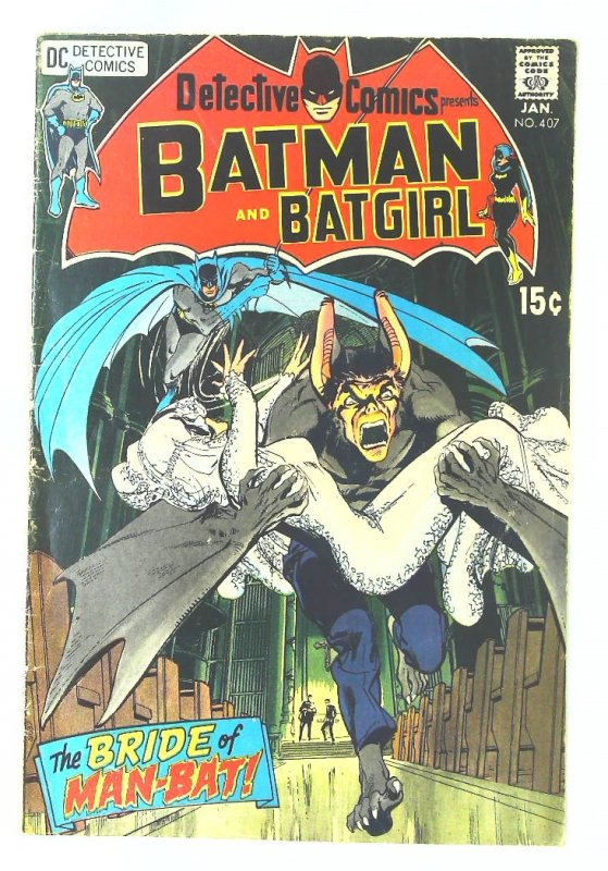 Detective Comics (1937 series) #407, Fine- (Actual scan)