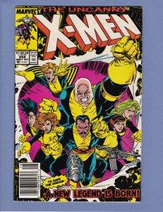 X-Men #254 VG Newsstand