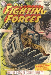 OUR FIGHTING FORCES (1954 Series) #7 Good Comics Book