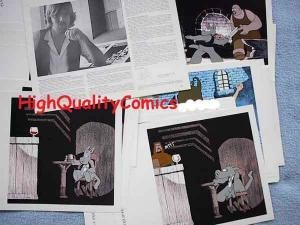 ANIMATED CEREBUS Portfolio by Dave Sim (Signed), 1983