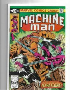 MACHINE MAN #18 - VF/NM - ALPHA FLIGHT - TIES TO X-MEN 140 - DITKO - BRONZE AGE