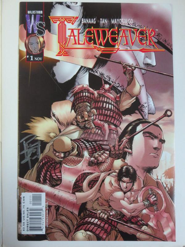 Taleweaver #1 (Wildstorm 2001) Signed by Philip S. Tan (1st Published Work!)