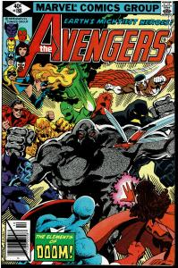 Avengers #188, 8.5 or Better - Intro. Elements of Doom