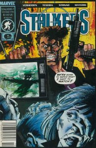 STALKERS #7, VF/NM, Mark Texeira, Epic Comics, 1990  more in store