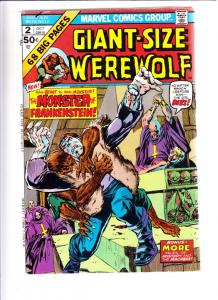 Giant-Size Werewolf by Night #2 (Oct-74) FN/VF Mid-High-Grade Werewolf