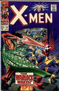X-MEN #30-MARVEL SILVER AGE-CYCLOPS FN/VF