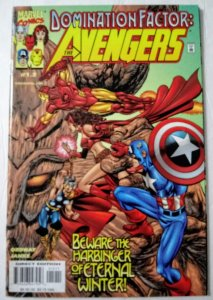 Domination Factor: Avengers #1.2 (NM)  1999 Marvel Comics ID#SBX5