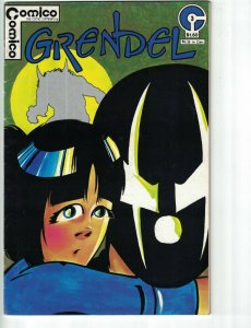 Grendel (1st Series) #3 FN; COMICO | save on shipping - details inside