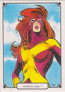 1988 Heroic Origins Series V Marvel Universe Continued #45 Marvel Girl