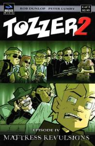 Tozzer 2 #4 VF/NM; Ablaze   save on shipping - details inside