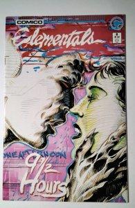 Elementals #8 (1986) Comico Comic Book J756