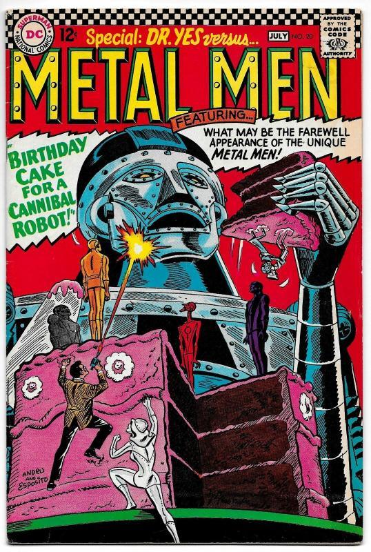 Metal Men #20 (DC, 1966) FN
