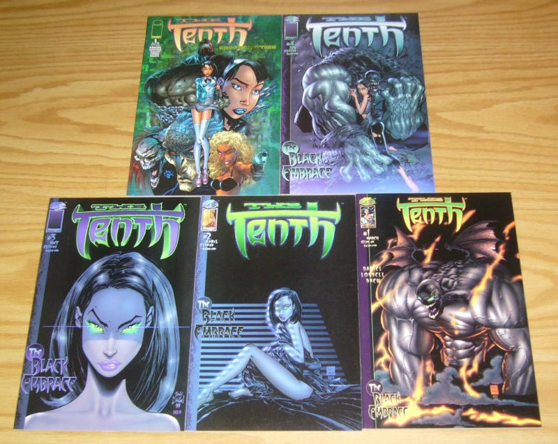 the Tenth: Black Embrace #1-4 VF/NM complete series + configuration tony daniel