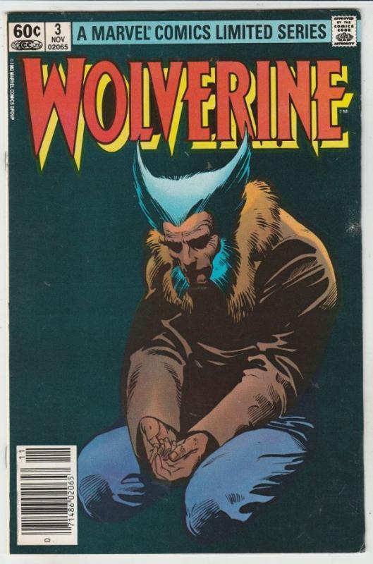 Wolverine #3 (Nov-82) VF+ High-Grade Wolverine