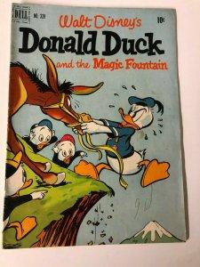 DONALD DUCK F.C. 339 July/Aug 1951 Magic Fountain VG-F half a century