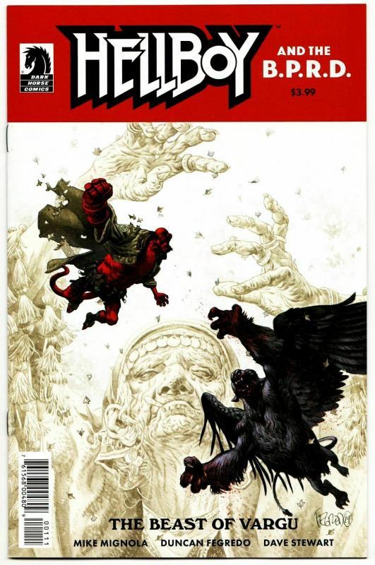 Hellboy And BPRD Beast Of Vargu #1 Cvr A (Dark Horse, 2019) NM