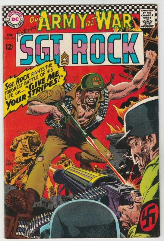 Our Army at War #176 (Feb-67) NM- High-Grade Easy Company, Sgt Rock