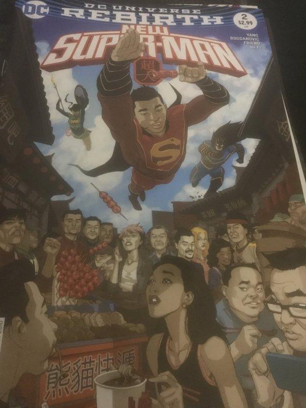 DC Rebirth New Superman #2 Mint