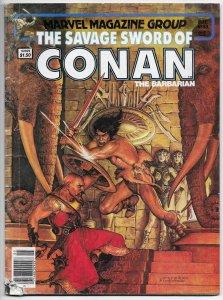 Savage Sword Of Conan Magazine #88 John Buscema (Marvel, 1983) GD
