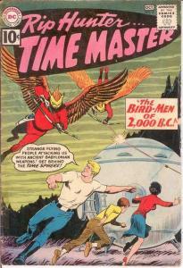 RIP HUNTER TIME MASTER 4 GOOD   October 1961 COMICS BOOK