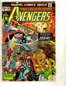 10 Avengers Marvel Comics 120 232 243 249 260 261 262 263 265 266 Beyonder DS1