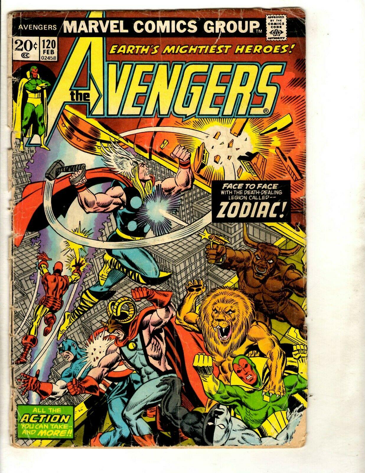 Marvel Comics Issue 266! Avengers