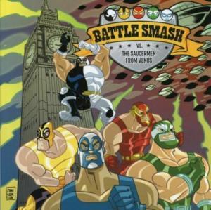 Battle Smash Vs. Saucer Men From Venus #1 VF/NM; Viper | save on shipping - deta