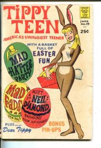 TIPPY TEEN #19-1968-TOWER-NEIL DIAMOND INTERVIEW-MOD FASHIONS-good
