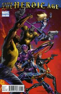Enter the Heroic Age #1 VF; Marvel   save on shipping - details inside