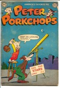 Peter Porkchops #19 1952-DC-violent humor-funny animals-VG