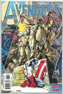 Avengers Forever (1999) #6 of 12 VF Busiek/Pacheco, Captain Marvel, Yellowjacket