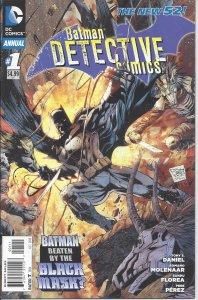 Batman Detective Comics: Annual #1 (Oct 2012) - Black Mask, Clayface, Mad Hatter