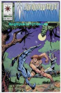 SHADOWMAN #6, NM, Valiant, Steve Ditko, Bob Hall, 1992, Family That Slays