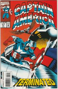 Captain America #417 (Jul-93) NM+ Super-High-Grade Captain America