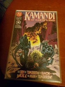 Kamandi at earth end