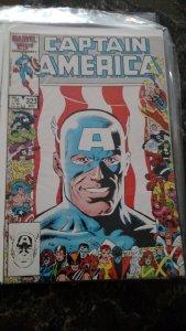 Captain America #323 (Marvel,1986) Condition NM