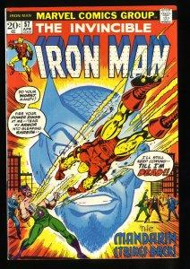 Iron Man #57 VF/NM 9.0