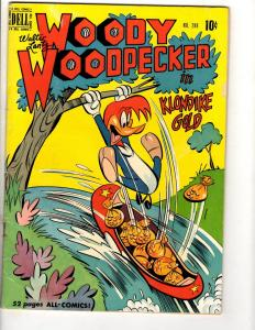 Four Color # 288 FN Dell Golden Age Comic Book Feat. Woody Woodpecker Gold JL8