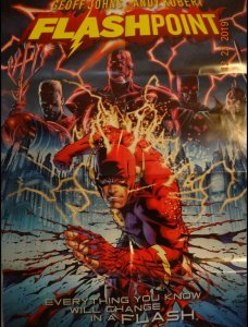 FLASHPOINT Promo Poster, 22 x 34, 2011, DC Flash Unused more in our store 392