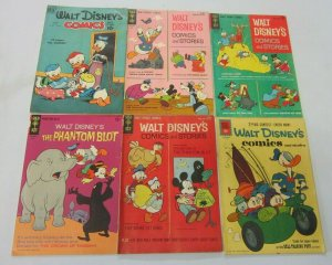 Walt Disney comics lot 6 different books (1950 1961)