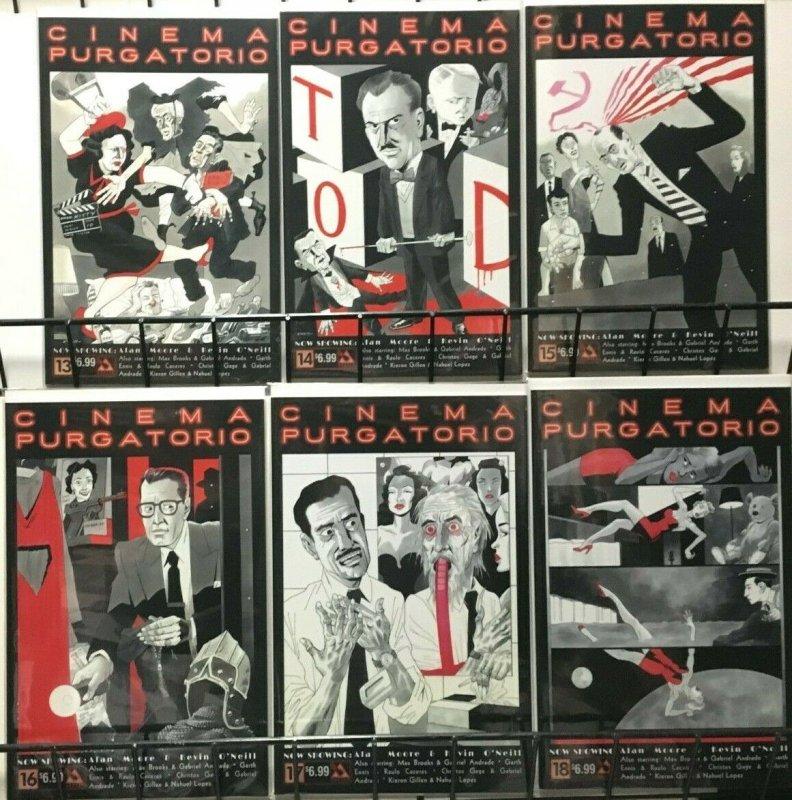 Cinema Purgatorio All 18 Issues - Alan Moore - Avatar VF+ Never Read 2016-19