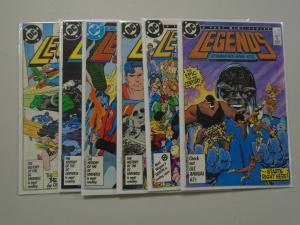 Legends (1986 DC) Set:#1-6, 8.5/VF+ (1986)