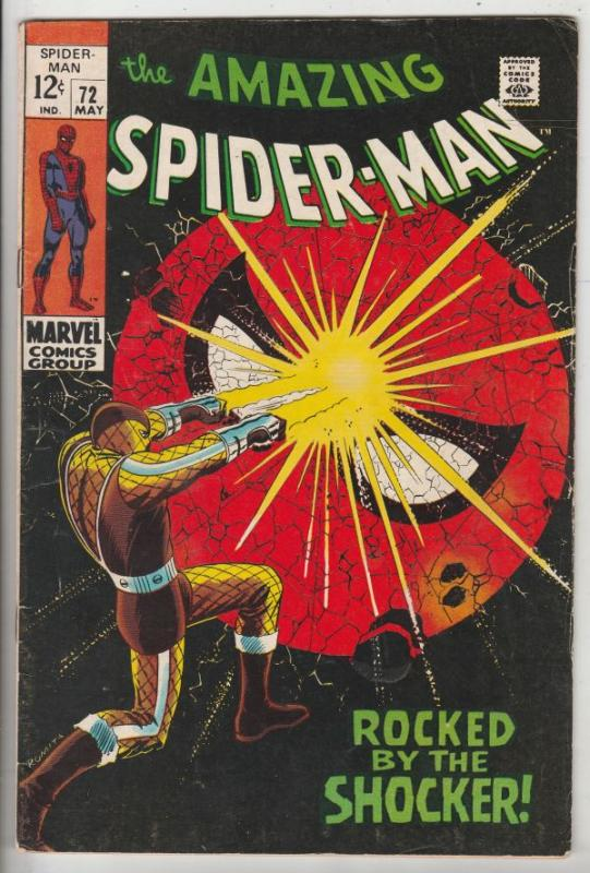 Amazing Spider-Man #72 (May-69) FN/VF Mid-High-Grade Spider-Man