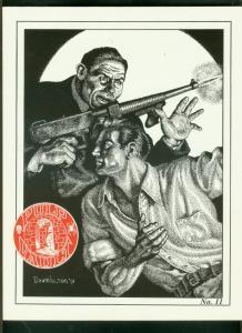 PULP VAULT FANZINE #11-1993-MOON MAN-LESTER DENT-SPICY  FN/VF