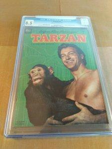 Tarzan #51 CGC Universal Grade 8.5 Lex Barker (Dell 1953)
