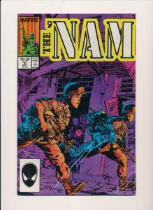 Marvel Comics THE 'NAM  #10 ~ VF/NM 1986 (HX735)