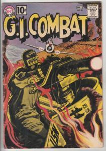 G.I. Combat #89 (Sep-61) VG+ Affordable-Grade Haunted Tank