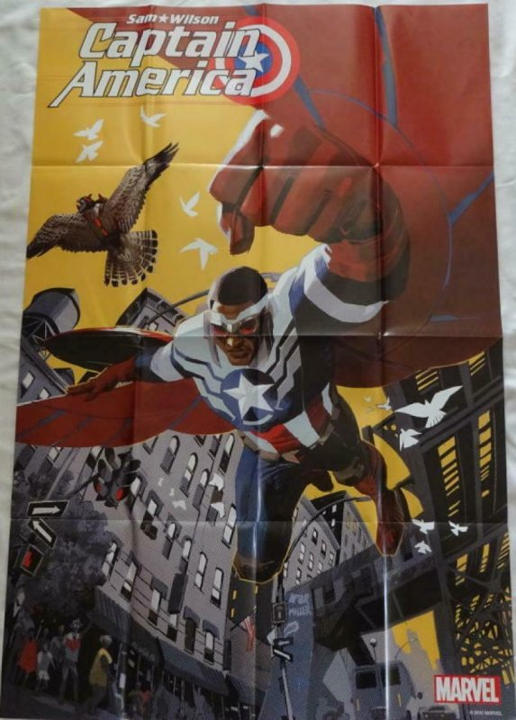 CAPTAIN AMERICA Promo Poster, 24 x 36, 2015, MARVEL Unused more in our store 183