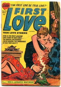 First Love #23 1952- Harvey Romance Golden Age- I Was a Japanese War Bride